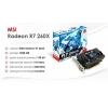Видеокарта MSI Radeon R7 260x 1Gb OS Б/У