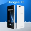 Смартфон Doogee X5 Quad Core MTK6580, 1280x720, 1/8Gb White + Чохол